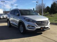 Silver 2017 Hyundai Tucson SE Plus AWD 6-Speed