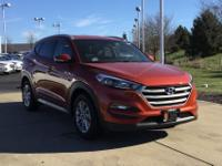 Sunset 2017 Hyundai Tucson SE Plus AWD 6-Speed