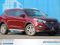 Ruby 2017 Hyundai Tucson SE AWD 6-Speed Automatic with