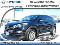 Hyundai Tucson 2017 SE Plus ABS brakes, Alloy wheels,