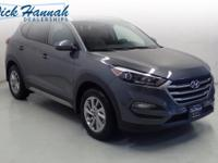 This Tucson is nicely equipped with features such as SE