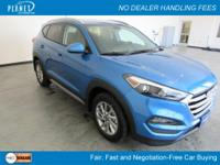 Caribbean Blue 2017 Hyundai Tucson SE Popular Equipment