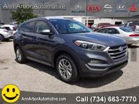 Gray 2017 Hyundai Tucson AWD 6-Speed Automatic with