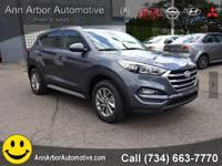 Grey 2017 Hyundai Tucson AWD 6-Speed Automatic with
