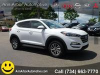 White 2017 Hyundai Tucson AWD 6-Speed Automatic with