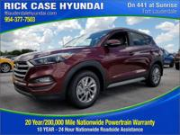 2017 Hyundai Tucson SE Plus  in Ruby and 20 year or