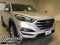 2017 Hyundai Tucson in Silver, AUX CONNECTION, USB,