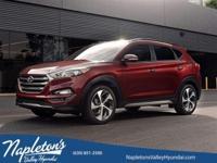 ** 2017 Hyundai Tucson in Red AURORA NAPERVILLE**.