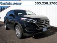 2017 Hyundai Tucson SE 2.0L DOHC Black TGH internet