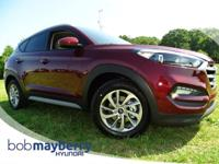 New Arrival! This 2017 Hyundai Tucson Ruby Wine *Backup