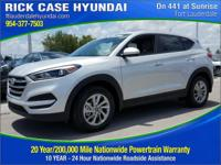 2017 Hyundai Tucson SE  in Molten Silver and 20 year or