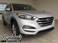 2017 Hyundai Tucson in Silver, AUX CONNECTION, USB,