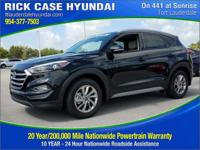 2017 Hyundai Tucson SE  in Black Pearl and 20 year or