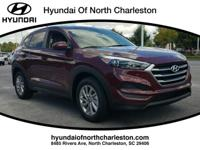 Ruby 2017 Hyundai Tucson SE FWD 6-Speed Automatic with