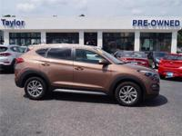 This Hyundai Tucson is CERTIFIED! Back-up Camera,