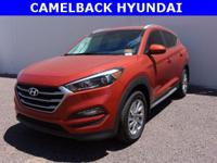 2017 Hyundai Tucson SE 30/23 Highway/City MPG  Awards: