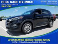 2017 Hyundai Tucson SE Plus  in Black Pearl and 20 year