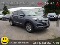Grey 2017 Hyundai Tucson SE FWD 6-Speed Automatic with