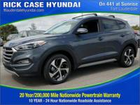 2017 Hyundai Tucson Sport  in Grey. Pass go and head