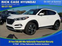 2017 Hyundai Tucson Value  in Winter White and 20 year