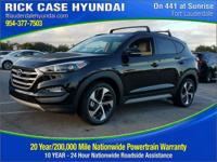 2017 Hyundai Tucson Value  in Black Pearl and 20 year