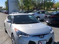 2017 Hyundai Veloster CARFAX One-Owner. Clean CARFAX.