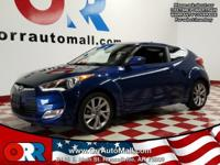 Veloster trim, PACIFIC BLUE exterior and BLACK