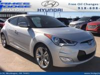 Silver 2017 Hyundai Veloster Value Edition FWD 6-Speed