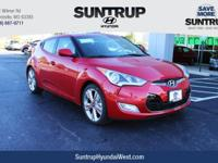 Red 2017 Hyundai Veloster Value Edition FWD 6-Speed