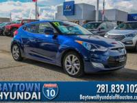 2017 Hyundai Veloster Clean CARFAX. CARFAX One-Owner.