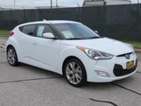 CARFAX One-Owner. Clean CARFAX. White 2017 Hyundai