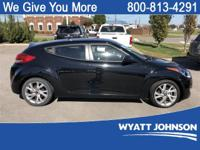 Ultra Black 2017 Hyundai Veloster FWD 6-Speed EcoShift