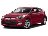 2017 Hyundai Veloster Value Edition ABS brakes, Alloy