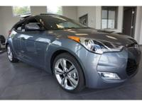 2017 Gray Hyundai Veloster Value Edition 6-Speed