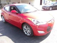 2017 Hyundai Veloster Keyless Entry, Satellite Radio,