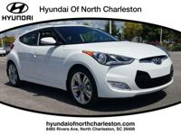White 2017 Hyundai Veloster Value Edition FWD 6-Speed