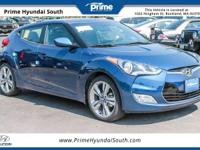 2017 Hyundai Veloster Value Edition FWD Pacific Blue