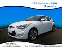 2017 Hyundai Veloster Value Edition White WITH SOME
