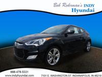 2017 Hyundai Veloster Value Edition Black WITH SOME
