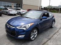 2017 Hyundai Veloster Value Edition Blue WITH SOME
