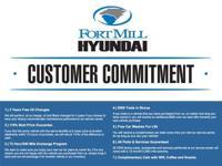 All of theFort Mill Hyundai Customer Commitment