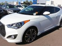 2017 Hyundai Veloster Turbo 32/26 Highway/City MPG