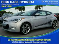 Recent Arrival! Silver 2017 Hyundai Veloster Value