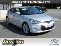 Veloster Value Edition, Silver, and Black. Bring as