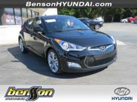 Veloster Value Edition, Ultra Black, and Black.