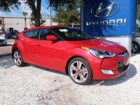 Red Metallic 2017 Hyundai Veloster Value Edition FWD
