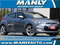 Nav! Gasoline! This 2017 Veloster is for Hyundai fans