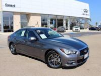 Options:  2017 Infiniti Q50 3.0T Signature