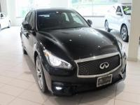 JUST IN!   2017 INFINITI Q70 3.7X, Black Obsidian,