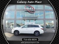 NEW , NEW , NEW , 2017 INFINITI QX60 AWD IN WHITE WITH